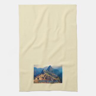 Machu Picchu Perú Toallas De Mano