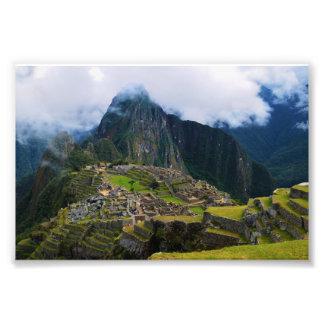 Machu Picchu, Perú, pasa por alto Fotografía