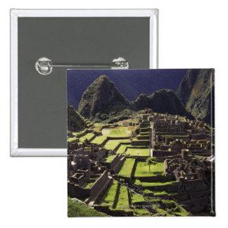 Machu Picchu, Perú Pin Cuadrado