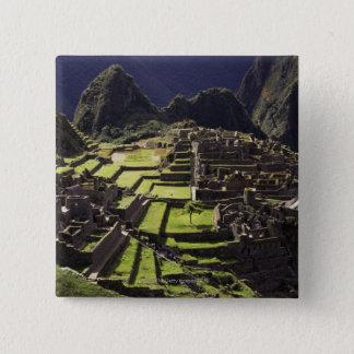Machu Picchu, Peru Pinback Button