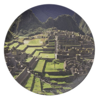 Machu Picchu, Perú Plato De Cena
