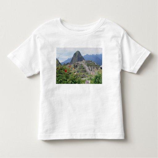 Machu Picchu, Perú Playera De Bebé