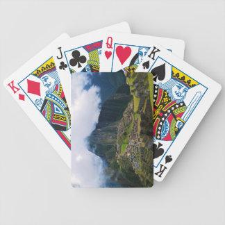 Machu Picchu, Peru Bicycle Playing Cards
