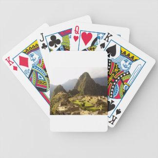 Machu Picchu Peru Bicycle Playing Cards