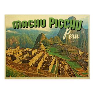 Machu Picchu Peru Postcard