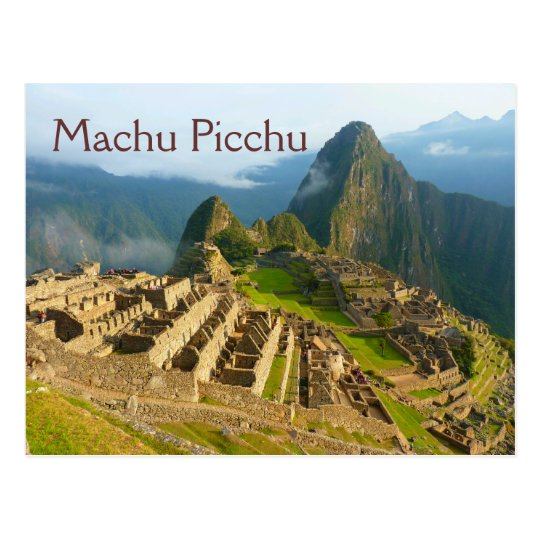 Machu Picchu Peru Postcard Zazzle Com