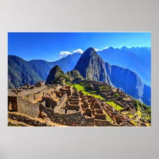 Machu Picchu - Peru Poster