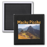 Machu Picchu Peru Ruins Magnet