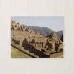 Machu Picchu Peru - Sun Gate View of Ruins Jigsaw Puzzle