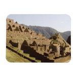 Machu Picchu Peru - Sun Gate View of Ruins Magnet