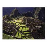 Machu Picchu, Perú Tarjeta Postal