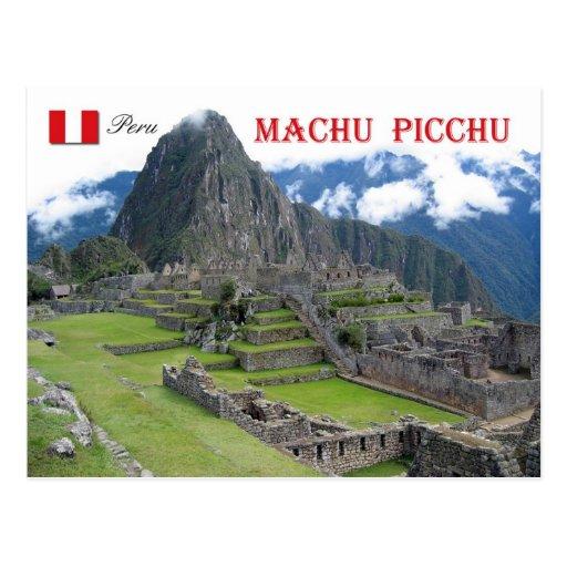 Machu Picchu, Perú Tarjetas Postales
