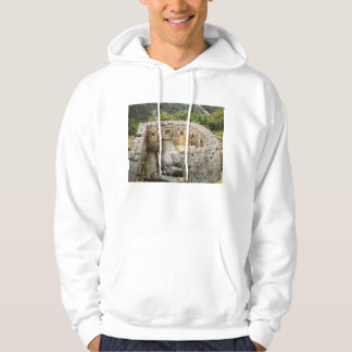 Machu Picchu Peru Temple of the Sun Ruins Hoodie