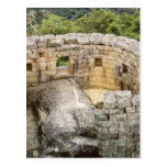 Machu Picchu Peru Temple of the Sun Ruins Postcard