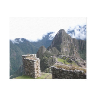 Machu Picchu Photography Canvas Print