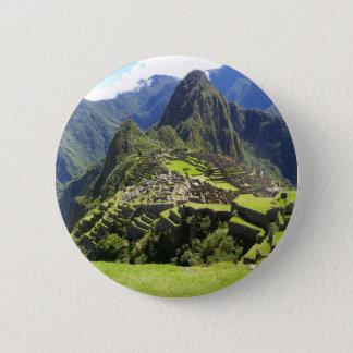 Machu Picchu Pinback Button