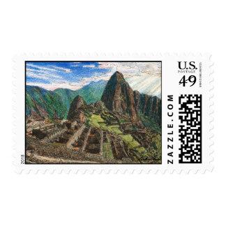 Machu Picchu Postage