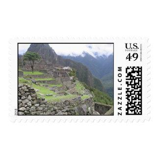 Machu Picchu Postage Stamp