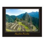 Machu Picchu Postales