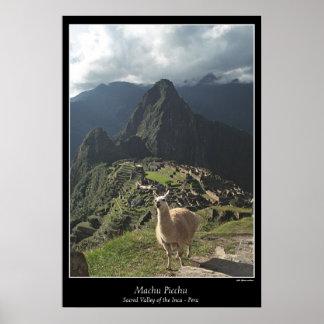 Machu Picchu Poster (Seven Wonders of the World)