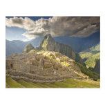 Machu Picchu, ruinas antiguas, mundo 2 de la Tarjetas Postales