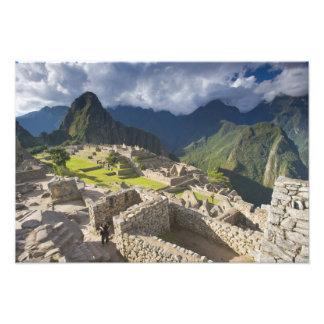 Machu Picchu, ruinas antiguas, mundo 3 de la UNESC Arte Con Fotos