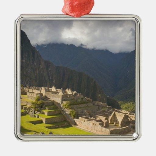 Machu Picchu, ruinas antiguas, mundo 4 de la UNESC Ornamento Para Reyes Magos