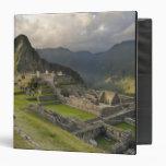 "Machu Picchu, ruinas antiguas, mundo de la UNESCO Carpeta 1 1/2"""
