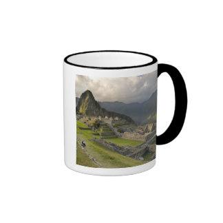 Machu Picchu, ruinas antiguas, mundo de la UNESCO Taza A Dos Colores