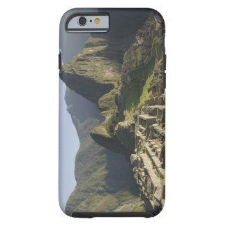 Machu Picchu, ruinas de la ciudad del inca, Perú Funda Resistente iPhone 6