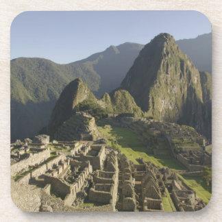 Machu Picchu, ruinas de la ciudad del inca, Perú Posavasos De Bebidas
