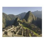 Machu Picchu, ruinas de la ciudad del inca, Perú Tarjeta Postal