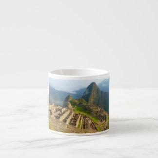 Machu Picchu ruins Espresso Cup