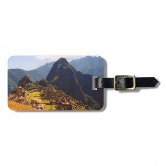 Machu Picchu Ruins Luggage Tag