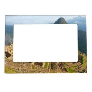 Machu Picchu ruins Magnetic Picture Frame
