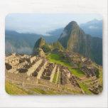 Machu Picchu ruins Mouse Pads