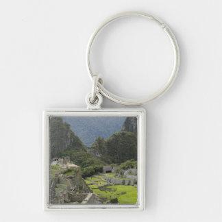 Machu Picchu, ruins of Inca city, Peru. 2 Keychain