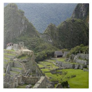Machu Picchu, ruins of Inca city, Peru. 2 Tile