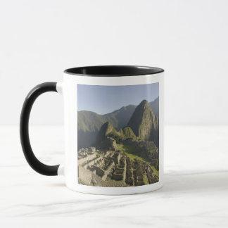 Machu Picchu, ruins of Inca city, Peru. Mug