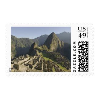 Machu Picchu, ruins of Inca city, Peru. Postage