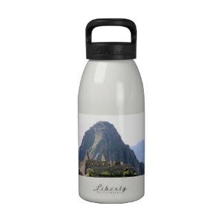 Machu Picchu Ruins Peru Huayna Picchu Artisan Wall Drinking Bottle