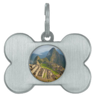 Machu Picchu ruins Pet Tag