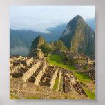 Machu Picchu ruins Print