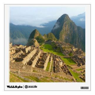 Machu Picchu ruins Wall Sticker