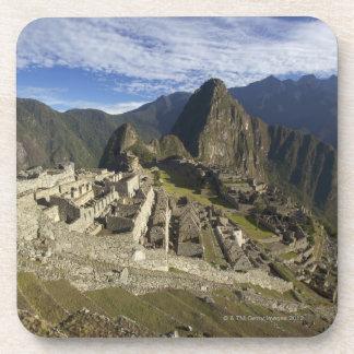 Machu Picchu, sitio del patrimonio mundial de la U Posavasos De Bebidas