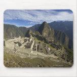Machu Picchu, sitio del patrimonio mundial de la U Tapete De Raton