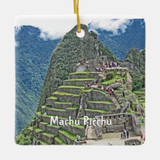 Machu Picchu - Treasure of Peru Ceramic Ornament