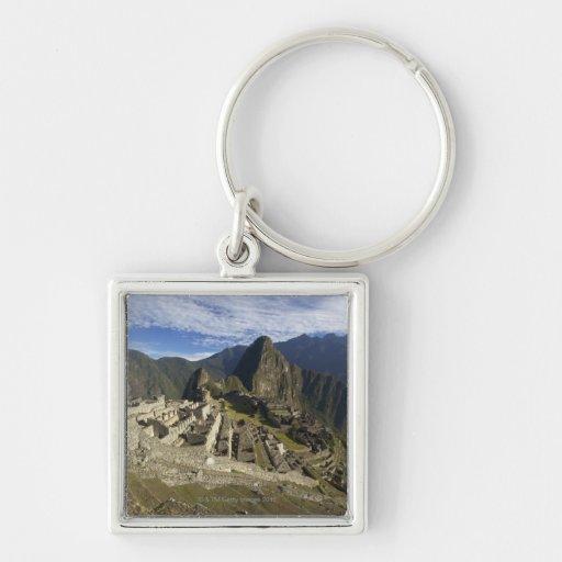 Machu Picchu, UNESCO World Heritage Site, Aguas Keychains