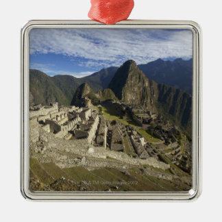 Machu Picchu, UNESCO World Heritage Site, Aguas Metal Ornament