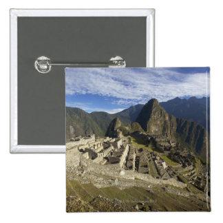 Machu Picchu, UNESCO World Heritage Site, Aguas Pinback Button